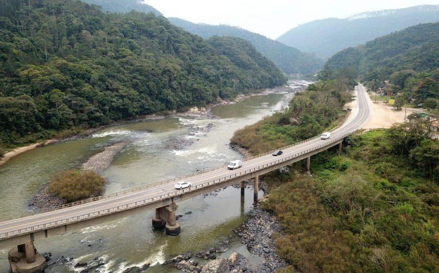 Governo Federal suspende licitação para reabilitação da Ponte Sobre o Rio Itajaí-Açu II