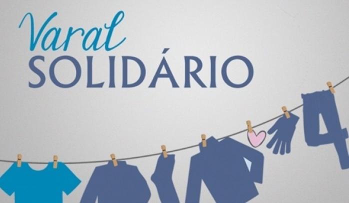 Grupo de voluntários organiza a segunda edição do Varal Solidário na Barra do Trombudo