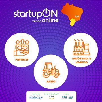 Startup On Sul segue até 13 de agosto