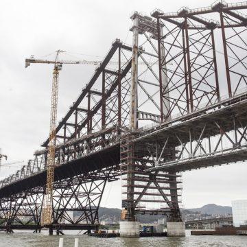 Ferragens da ponte Hercílio Luz serão utilizadas em pontes no Alto Vale