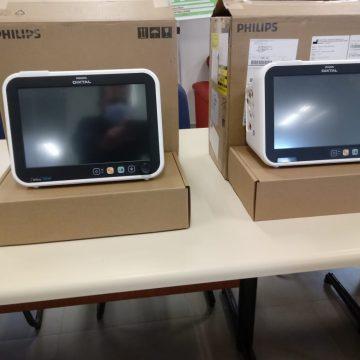 Unidavi doa dois monitores para respiradores ao hospital regional