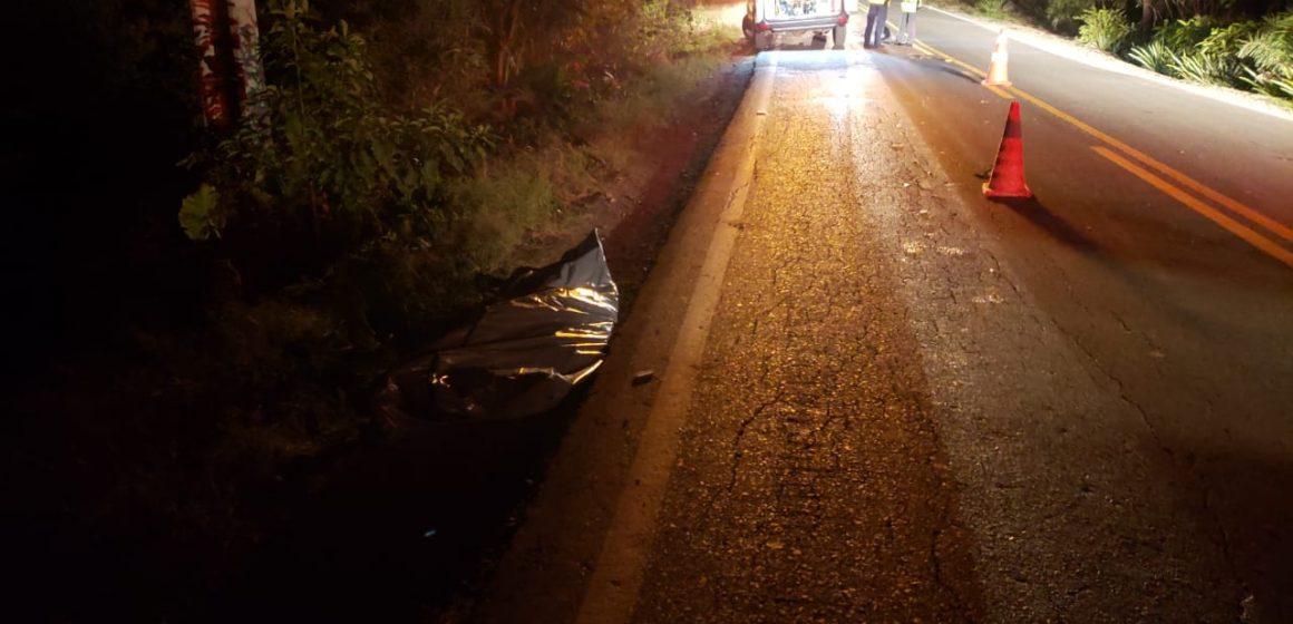 Homem de 51 anos morre atropelado na SC-114, em Salete