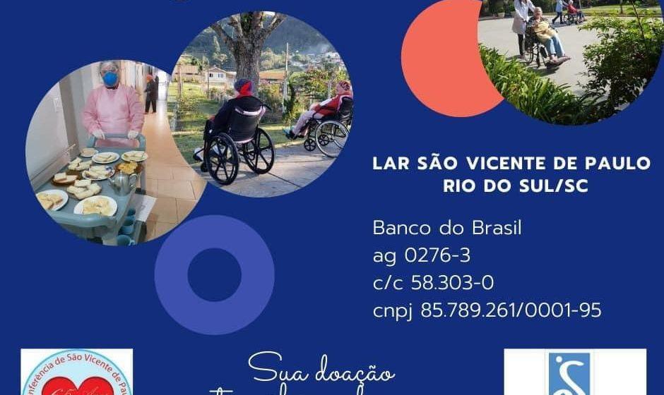 Asilo São Vicente de Paulo promove pedágio virtual para manutenção e pagamento de despesas
