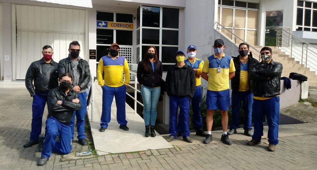 Após análise de liminar pelo STF, aumenta número de dos carteiros em greve na região