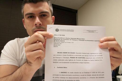 Deputado Bruno Souza pretende alterar a constituição do Estado para as eleições diretas