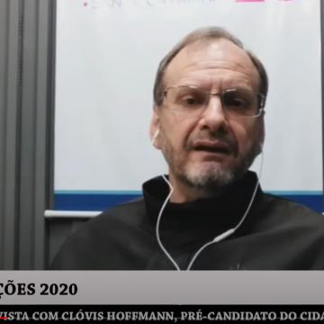 Pré-candidatos à prefeitura de Rio do Sul: Clóvis Hoffmann do Cidadania