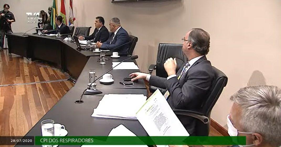CPI dos Respiradores encerra com pedido de impeachment do governador Carlos Moisés
