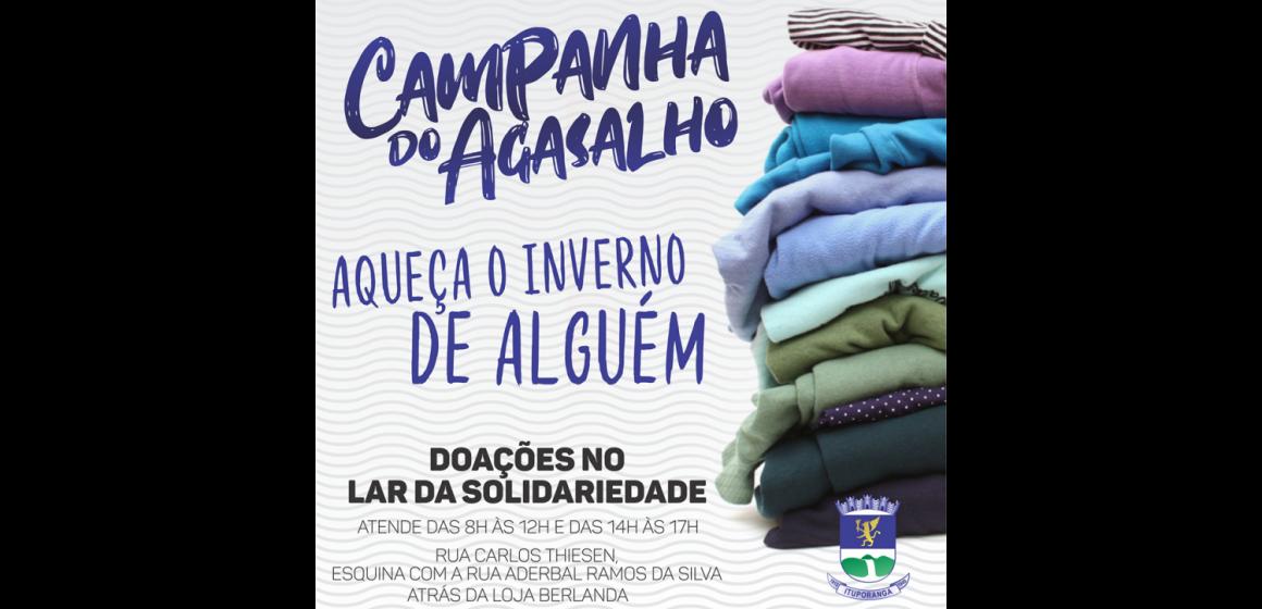 Com previsão de frio intenso, Lar da Solidariedade de Ituporanga reforça pedido de doações para trabalhadores vindos de outras regiões