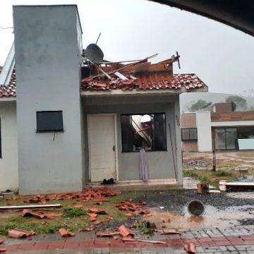 Dois tornados atingem Santa Catarina na sexta-feira