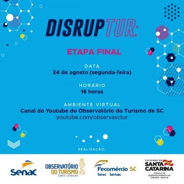 Senac premia inovações no turismo de Santa Catarina