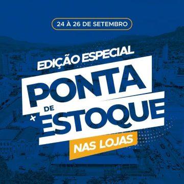 Feira Ponta de Estoque prossegue até sábado, na capital do Alto Vale