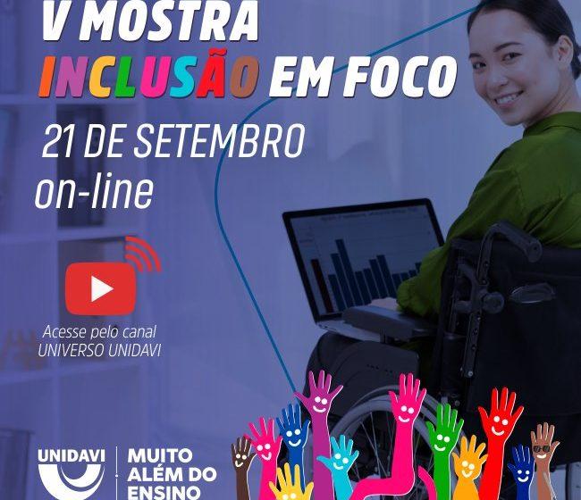 Conselho municipal dos direitos da pessoa com deficiência realiza a 5ª Mostra Inclusão em Foco