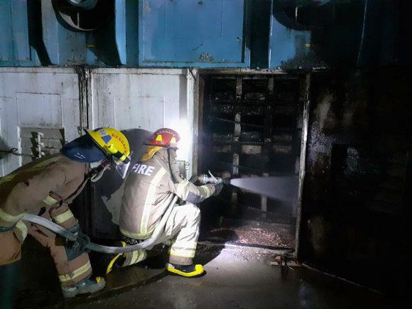 Incêndio é registrado em madeireira em Presidente Getúlio