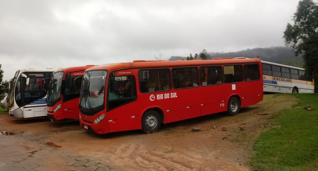 Retorno do transporte coletivo em Rio do Sul está previsto para terça-feira, 8 de setembro