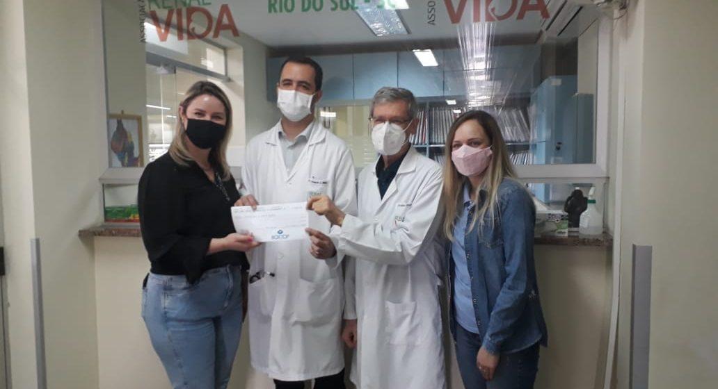 Empresa destina R$ 5 mil em campanha para Renal Vida