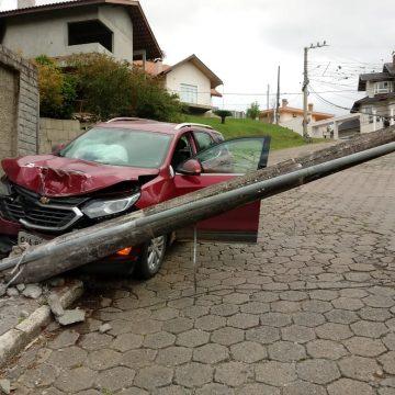 Acidente de trânsito deixa parte do bairro Sumaré sem o fornecimento de energia elétrica
