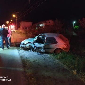 Motorista foge após acidente de trânsito em Witmarsum