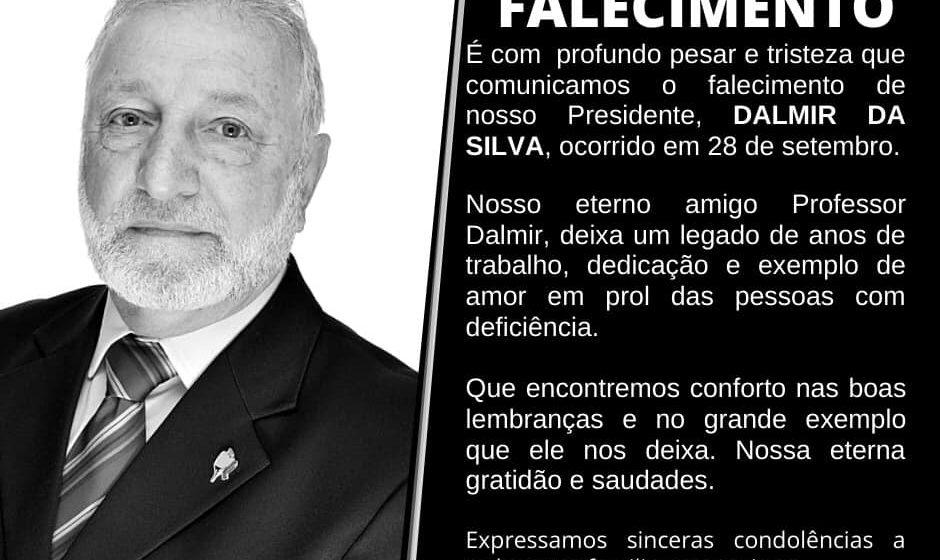 Presidente da APAE de Rio do Sul morre em decorrência de complicações da Covid-19