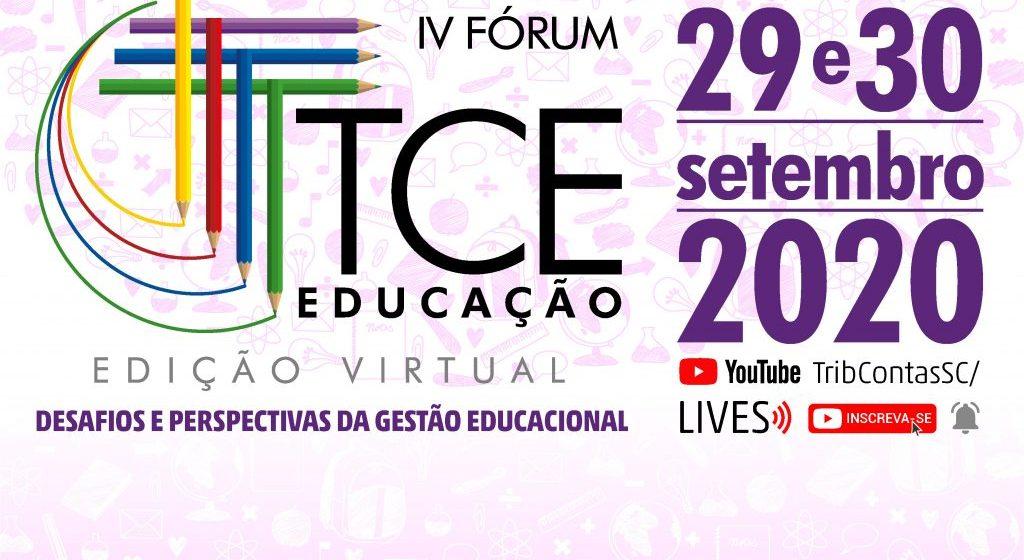Tribunal de Contas prepara quarta edição do Fórum TCE Educação