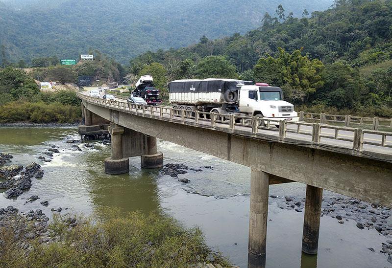 Tempo instável atrasou conclusão de restauração de 8 quilômetros da BR-470