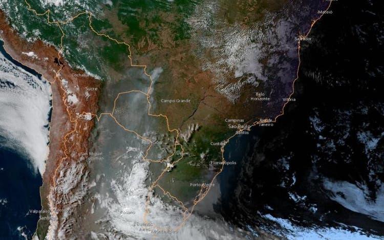 Incêndios no Pantanal têm influenciado o estado de Santa Catarina