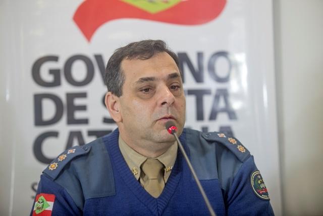 João Batista deixa comando da Defesa Civil de SC