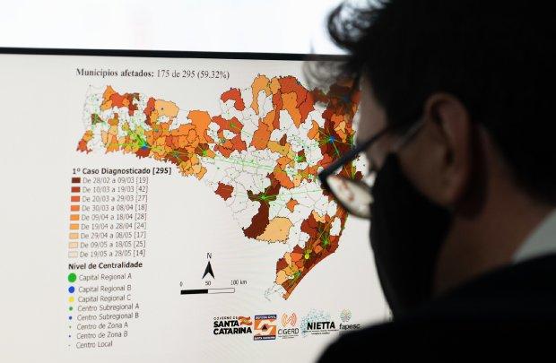 Matriz de risco para o coronavírus, do governo de SC, ganha novos critérios