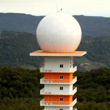 Radar de Lontras está parado há três semanas e sem previsão de retorno do funcionamento