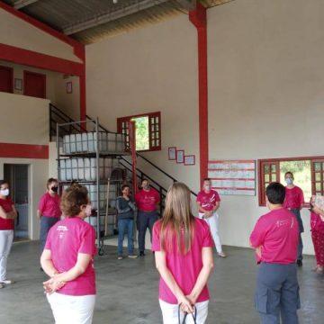 Bombeiros Voluntários de Presidente Getúlio  realizam o 6º plantão Feminino especial de Outubro Rosa
