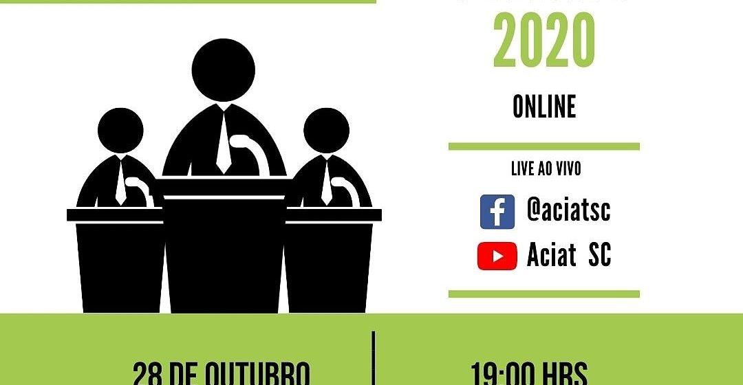 Aciat realiza primeiro debate com candidatos a prefeito de Taió