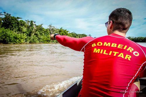 Corpo de bombeiros orienta população para evitar afogamentos em rios e cachoeiras