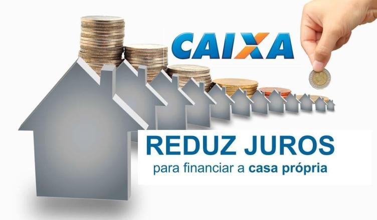 Caixa anuncia redução da taxa de juros para financiamento da casa própria
