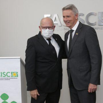 Empresários de Rio do Sul compõe nova diretoria da Facisc