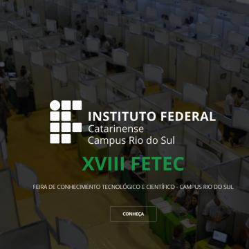 IFC realizará a 21ª edição da Feira do Conhecimento Tecnológico e Científico