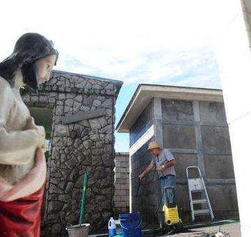 Limpeza e pintura em túmulos devem ser feitas até hoje, segundo orientação da Vigilância Sanitária estadual