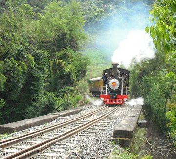 Passeios de Maria Fumaça, na localidade Subida, entre Ibirama e Apiúna, voltam a acontecer neste fim de semana