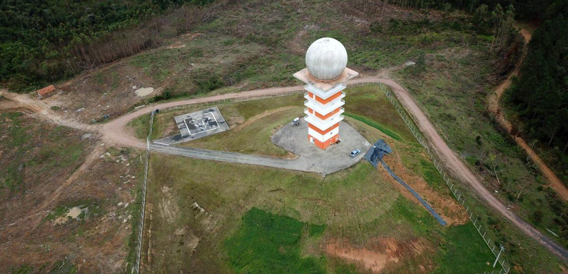 Após duas panes, Radar Meteorológico de Lontras está sem funcionar há mais de 150 dias