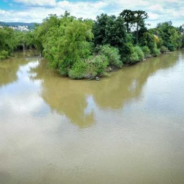 Epagri monitora rios do Alto Vale para acompanhar a evolução das condições