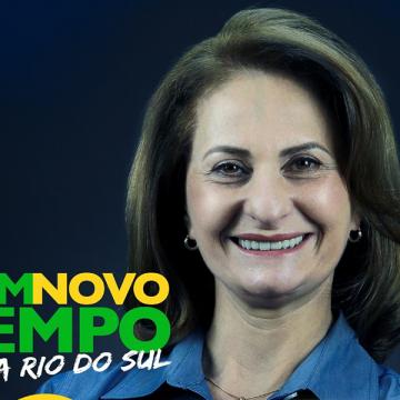 Candidata a vice-prefeita tem registro indeferido em Rio do Sul