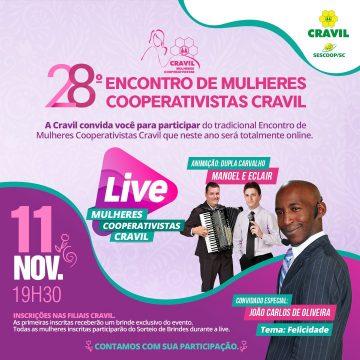 Confraternização das Mulheres Cooperativistas Cravil acontece amanhã