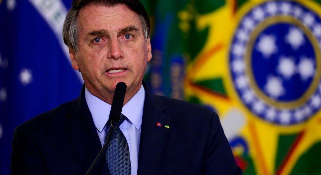 Em visita a SC, presidente Bolsonaro cita votações nos EUA e agradece papel do estado na sua eleição