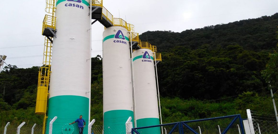 Turbidez da água afeta abastecimento do sistema integrado da Casan