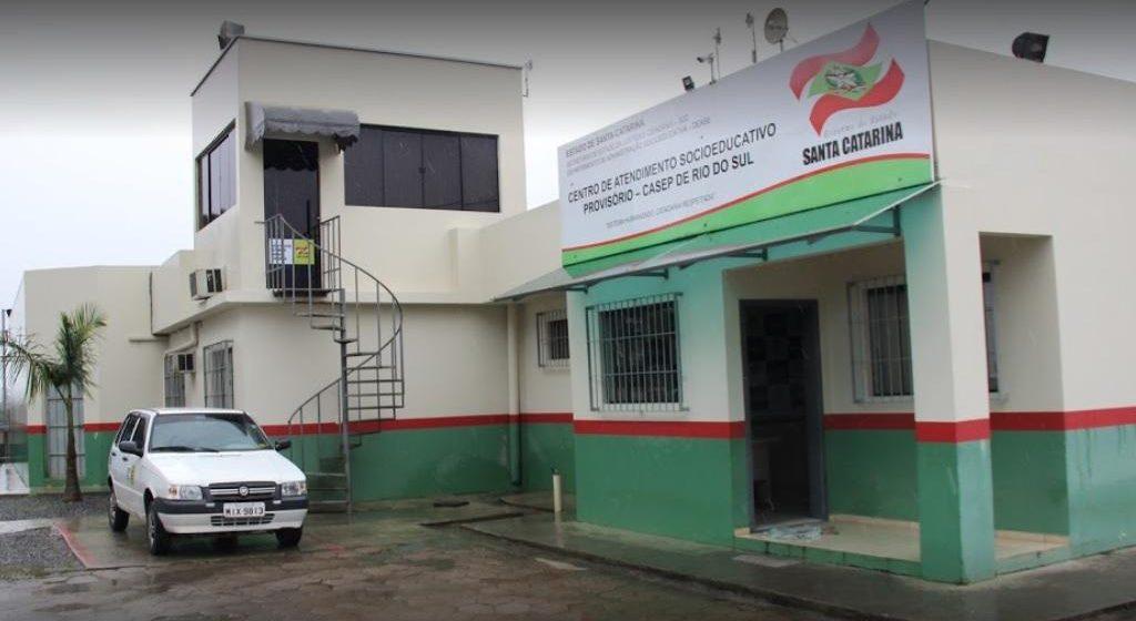 Casep retoma atividades em Rio do Sul, com capacidade para atender até 18 internos