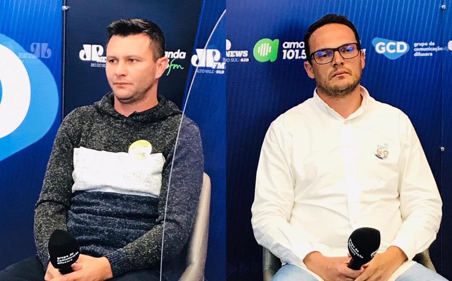 Amanda FM realiza debate entre candidatos que disputam a prefeitura de Lontras