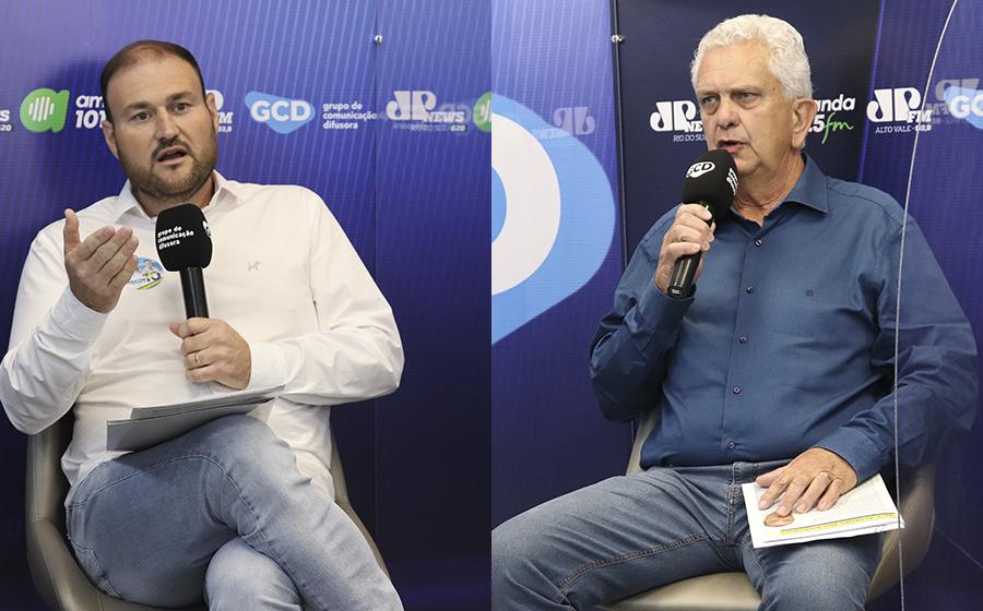 População de Agronômica conhece propostas dos candidatos a prefeito, em debate realizado pela rádio Amanda