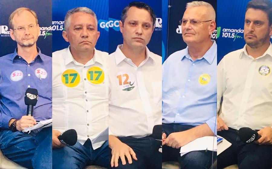 Grupo de Comunicação Difusora realiza último debate entre os candidatos a prefeito