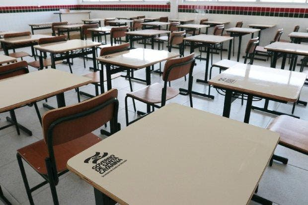19 municípios catarinenses já possuem escolas com atividades presenciais na rede estadual de ensino