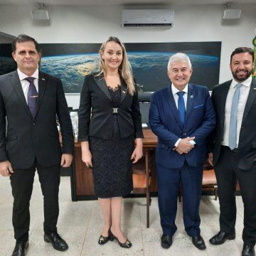 Em extensa agenda em Brasília, governadora de SC encontra Bolsonaro, Mourão e ministros