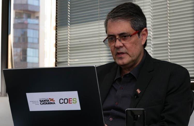 Secretário de estado da saúde comenta piora da situação da Covid-19 em SC