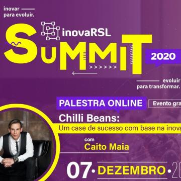 2ª edição do InovaRSL Summit está programada para dezembro
